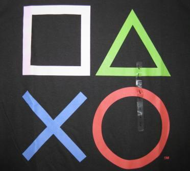 Playstation (Black) - L Shirt